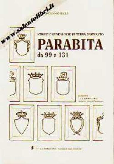 Immagine di Parabita da 99 a 131 ; Storie e genealogie di Terra d'Otranto