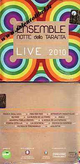 Immagine di Ensemble Notte della Taranta Live 2010