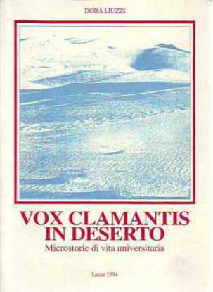 Immagine di Vox Clamantis in deserto. Microstorie di vita universitaria