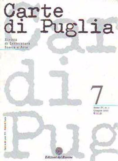 Immagine di CARTE DI PUGLIA GIUGNO 2002