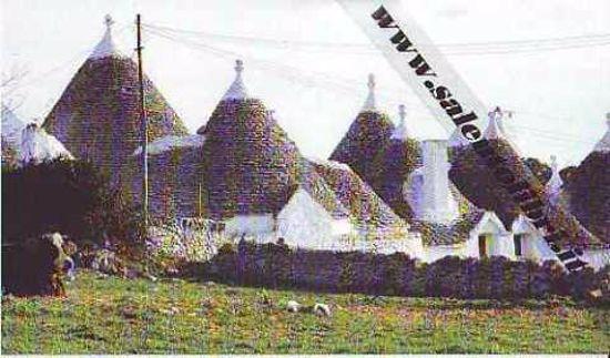 Immagine di CARTOLINA 10 X 17 CISTERNINO OSTUNI TRULLI