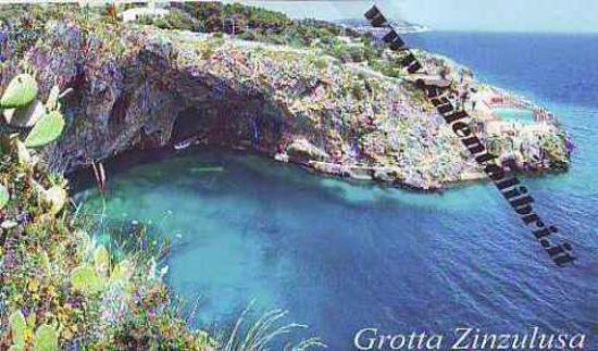 Immagine di CARTOLINA 10 X 17 CASTRO - GROTTA ZINZULUSA