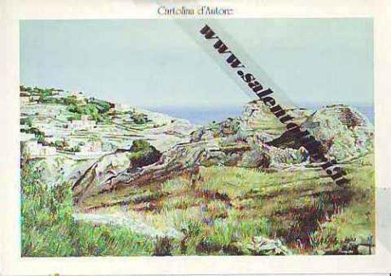 Immagine di CARTOLINA 12 X 17 QUADRO - PAESAGGIO SALENTINO