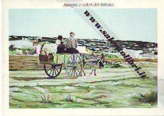 Immagine di CARTOLINA 12 X 17 QUADRO - RITORNO DALLA CAMPAGNA