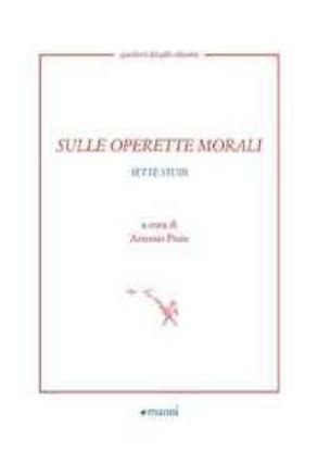 Immagine di SULLE OPERETTE MORALI sette studi