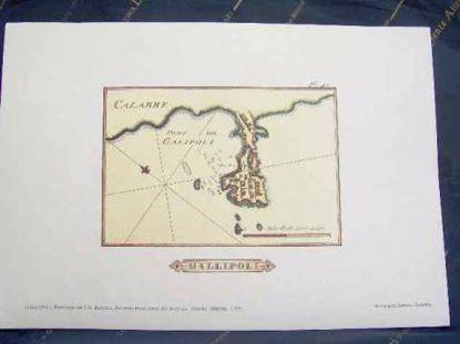 Immagine di Gallipoli - Portolano del 1764