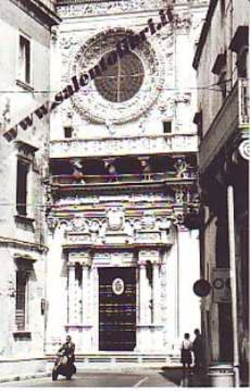 Immagine di CARTOLINA 10 X 17 LECCE - SANTA CROCE
