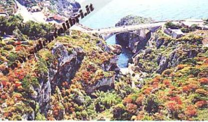 Immagine di CARTOLINA 10 X 17 PONTE CIOLO - GAGLIANO DEL CAPO