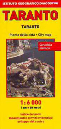 Immagine di TARANTO PIANTA DELLA CITTÀ 1:6.000