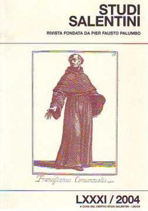 Immagine di Studi salentini. Incontri su S. Giuseppe da Copertino LXXXI 2004