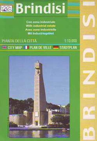 Immagine di BRINDISI PIANTA DELLA CITTÀ 1:10.000