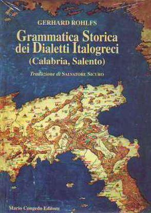 Immagine di Grammatica storica dei dialetti italogreci (Calabria Salento)