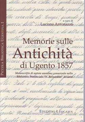 Immagine di Memorie sulle antichità di Ugento 1857