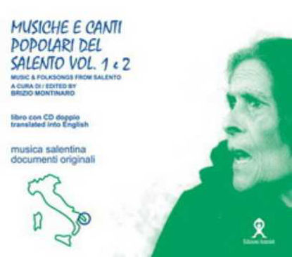 Immagine di Musiche e canti popolari del salento 1° e 2° (Music & Folksongs from Salento)