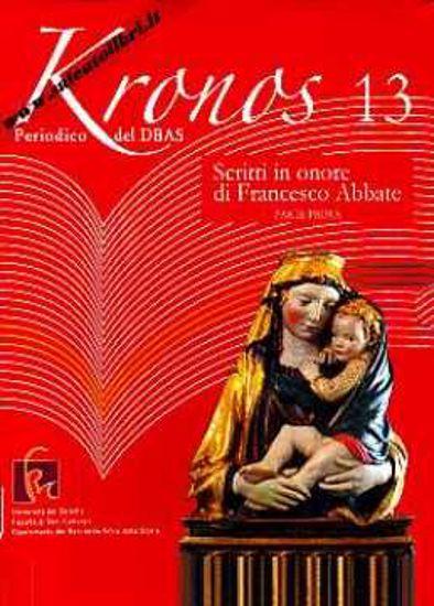 Immagine di Kronos 13 Periodico del DBAS Scritti in onore di Francesco Abbate