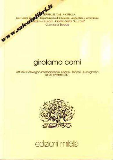 Immagine di Girolamo Comi - Atti del Convegno 2001
