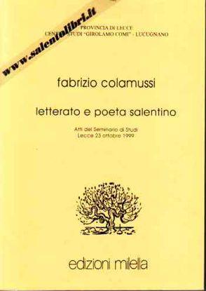 Immagine di Fabrizio Colamussi. Letterato e poeta salentino