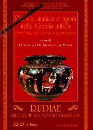 Immagine di Rudiae. Ricerche sul mondo classico. vol.22-23 Tomo 1