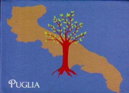 Immagine di Puglia (b) - Magnete