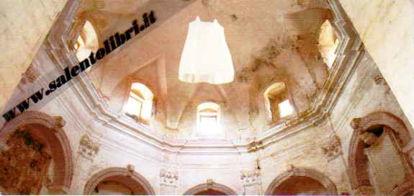 Immagine di Tricase. Chiesa del Diavolo. Cartolina Progetto d'arte contemporanea INITINERE