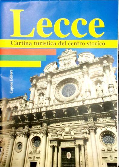 Immagine di LECCE Carta Turistica del Centro Storico