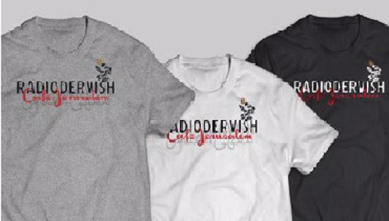 Immagine di T - shirt Cafè Jerusalem Radiodervish (femminile)