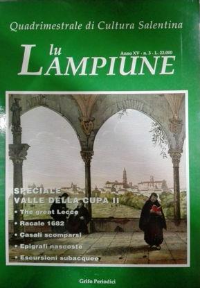 Immagine di Lu Lampiune Quadrimestrale di Cultura Salentina Anno 15 n°3 Dicembre 1999