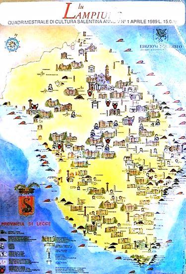 Immagine di Lu Lampiune Quadrimestrale di Cultura Salentina Anno 5 n°1 Aprile 1989