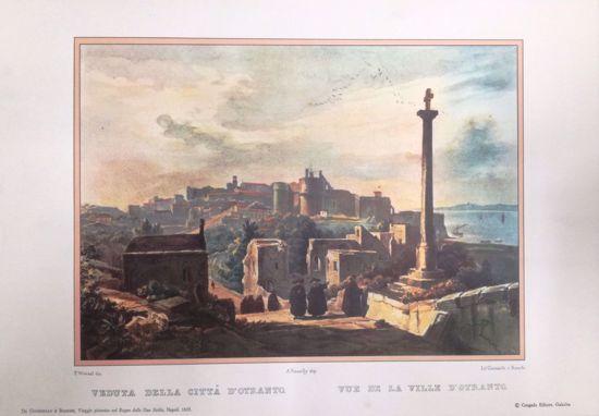 Immagine di Veduta della città di Otranto 1820