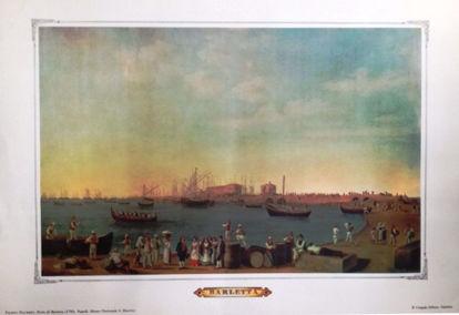 Immagine di Porto di Barletta 1790 (Filippo Hackert)