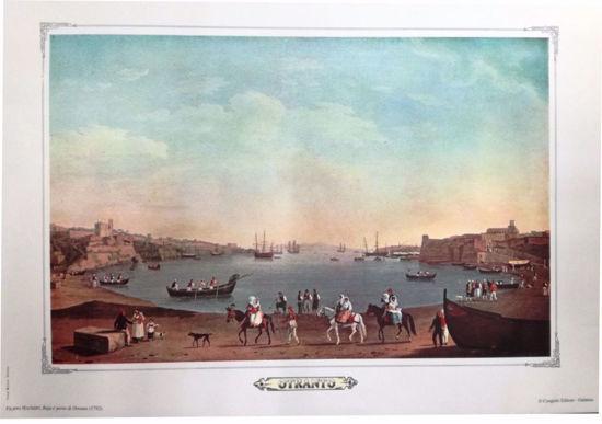 Immagine di Baia e porto di Otranto (1792) DI FILIPPO HACKERT