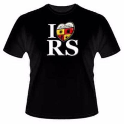 """Immagine di T-Shirt modello """"I Love RS"""" Repubblica Salentina (Donna)"""