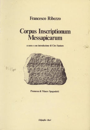 Immagine di CORPUS INSCRIPTIONUM MESSAPICARUM