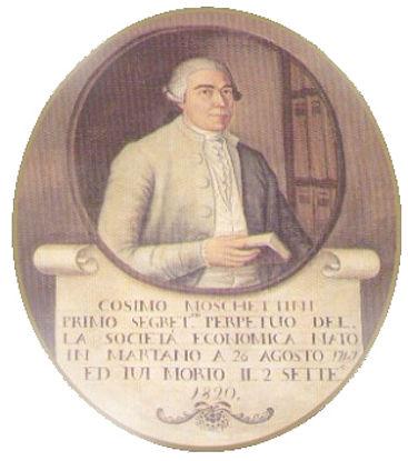 Immagine di COSIMO MOSCHETTINI (1747-1820). PROFILO BIOGRAFICO E SCRITTI DI «RUSTICA OLEARIA ECONOMIA»