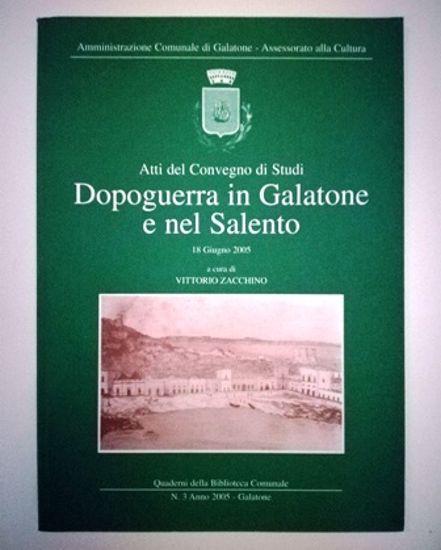Immagine di Dopoguerra in Galatone e nel Salento