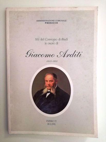Immagine di ATTI DEL CONVEGNO DI STUDI IN ONORE DI GIACOMO ARDITI 1815 1891