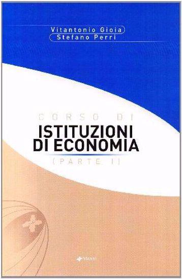 Immagine di CORSO DI ISTITUZIONI DI ECONOMIA. VOL. 1