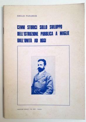 Immagine di CENNI STORICI SULLO SVILUPPO DELL`ISTRUZIONE PUBBLICA A MAGLIE DALL`UNITA` A OGGI