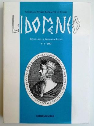 Immagine di L`IDOMENEO  - RIVISTA DELLA SEZIONE DI LECCE N°4 - 2002