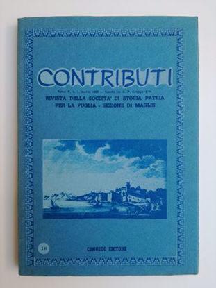 Immagine di CONTRIBUTI N°16/1986 - RIVISTA TRIMESTRALE