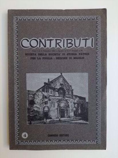 Immagine di CONTRIBUTI N°4/1982 - RIVISTA TRIMESTRALE