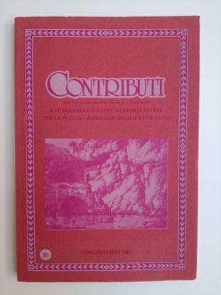 Immagine di CONTRIBUTI N°20/1988 - RIVISTA TRIMESTRALE