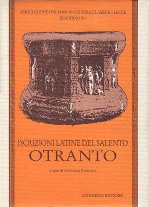 Immagine di ISCRIZIONI LATINE DEL SALENTO - OTRANTO