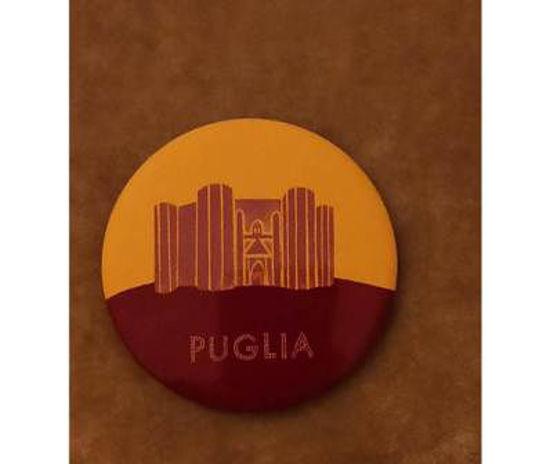 Immagine di PUGLIA  - MAGNETE ROTONDO 003