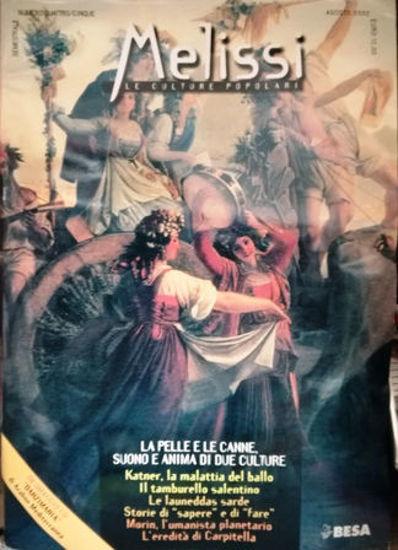 Immagine di MELISSI RIVISTA  4 - 5 + CD TARANTATE  Le culture popolari.