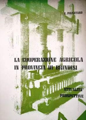 Immagine di LA COOPERAZIONE AGRICOLA IN PROVINCIA DI BRINDISI. ATTUALITA` E PROSPETTIVE