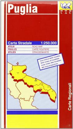 Immagine di PUGLIA 1:250 000 CARTA