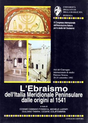 Immagine di EBRAISMO DELL`ITALIA MERIDIONALE